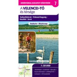 Frigoria - A Velencei-tó és térsége - 1:50000 kerékpártérkép