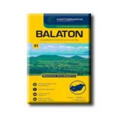 Cartographia - Balaton turistatérkép 1:40.000