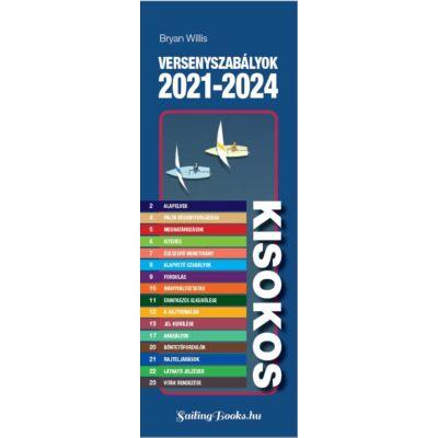 Bryan Willis - Versenyszabály kisokos 2021-2024