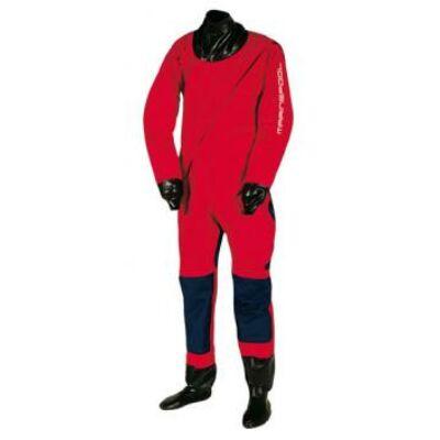 Marinepool - Dryline 8 Trocken - szárazruha lábrésszel piros/fekete