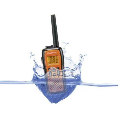 Albrecht - TecTalk Float PMR 446 Radio fekete-narancs