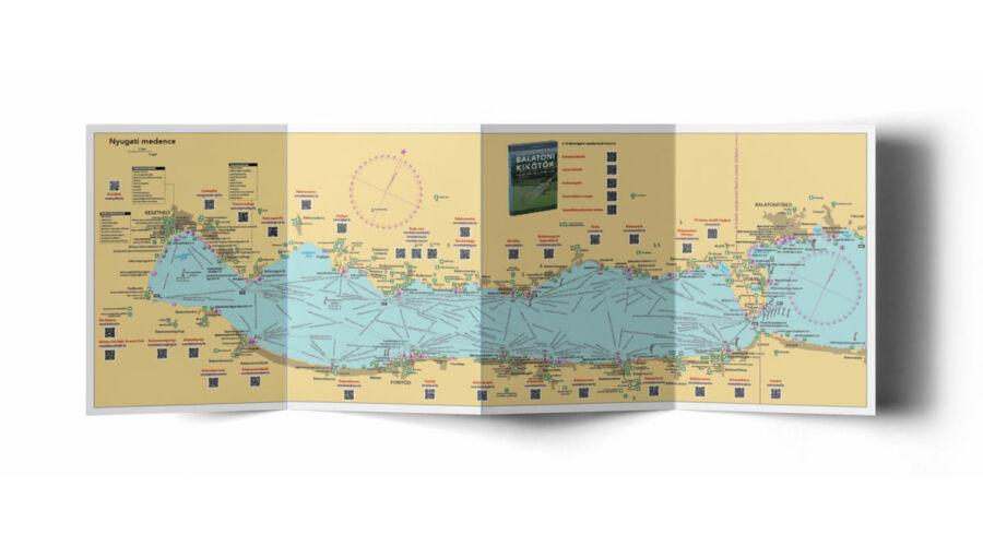 térkép tervező Horváth Csaba   Balaton túraútvonal tervező térkép   Térkép